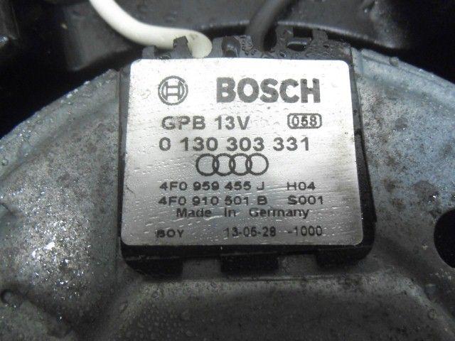 2008 AUDI A6 2.7 TDI RADIATOR FAN / COWEL TWIN UNIT P/N: 4F0959455J / 4F0910501B