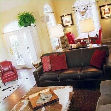 living room paint ideas burgundy gold brown - Google ...