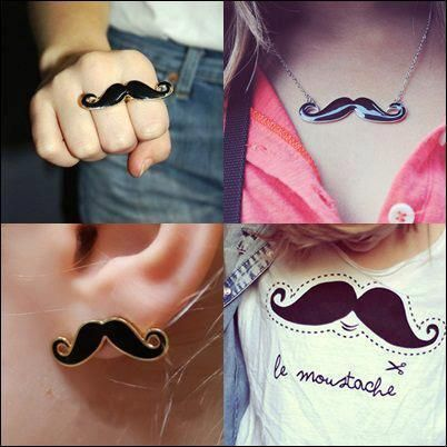 Moustache Accessories Picture & Image | tumblr
