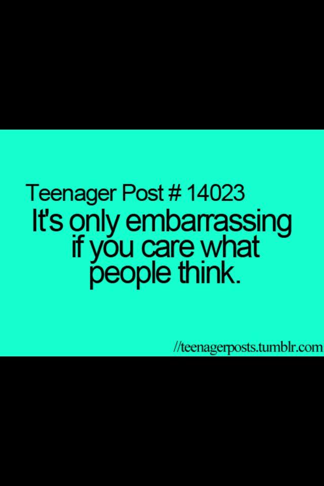 Teen quote