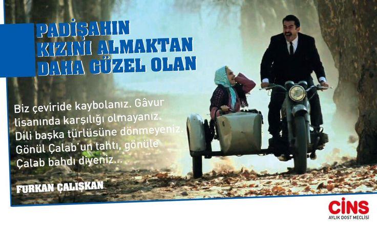 """#GönlünüzünCinsi @furkan_caliskan """"Padişahın kızını almaktan daha güzel olan""""ı anlatıyor Mart sayımızda."""