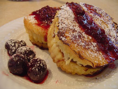 Nutella stuffed french toast | The Appetite | Pinterest
