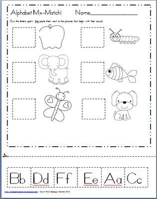 1000+ ideas about Letter Assessment on Pinterest | Skills ...