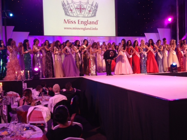 All the beautiful Miss England 2012 finalists.