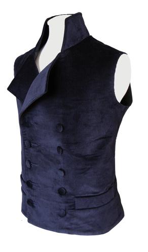 male!tardis: waistcoat 3 (minus collar)