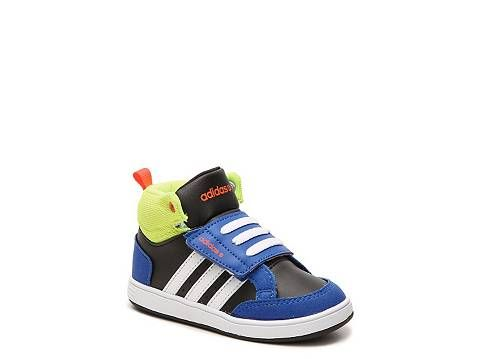 4f31ad71527a adidas NEO Hoops Boys Infant   Toddler Velcro High-Top Sneaker ...