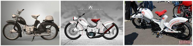 Simson SR2 Custom Design by AREA12DESIGN | Bau und Umsetzung by Fußrastenraudis