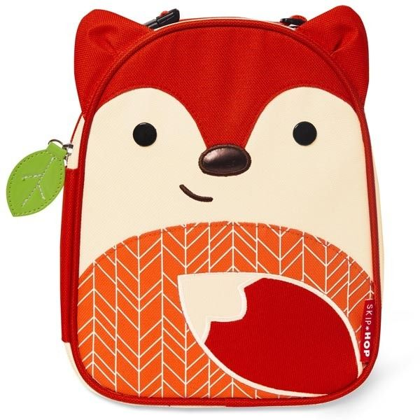 Skip Hop Lunch Bag - Fox, Children's Lunch Bags Fox | Becky & Lolo