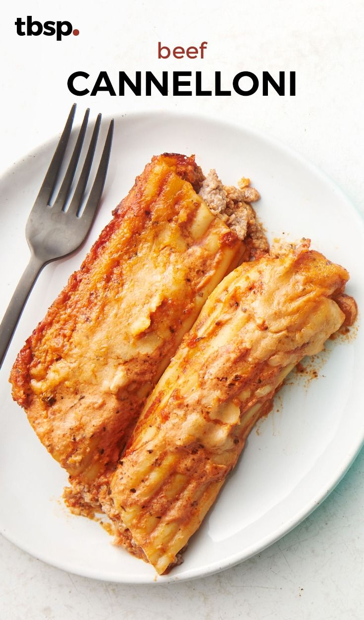 The secret behind our version of classic Italian cannelloni is adding pancetta to the filling, that and hitting the perfect ratio of pasta to sauce. If you come across cannelloni noodles, use those; we call for manicotti because they're similar and easier to find.
