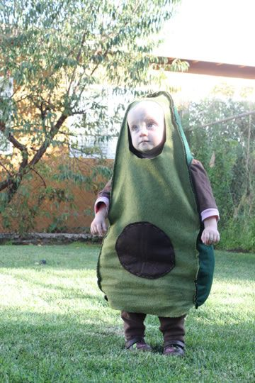 Such an adorable avocado!!! Costume by Liz Scot of The Fat Quarter Shop.