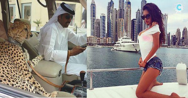 Дубай - оазис роскоши в центре пустыни, город самых шикарных отелей, самых высоких небоскребов и самых дорогих магазинов. Туристы толпами стекаются в Дубай, чтобы посмотреть на воплощения беззастенчивого, кричащего богатства, восхищаясь, радуясь, а временами и ужасаясь картинам, которые можно увидеть только в Дубае! 1. Дети на вертолетах Пока богатые папы зарабатывают деньги, их детишки с удовольствием тратят заработанное. Дубай полон золотой молодежи, объединившейся в Инстаграм-сообщество…