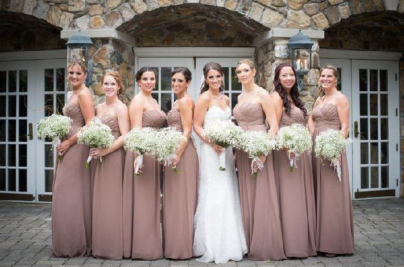 latte colored bridesmaid dresses - Google Search