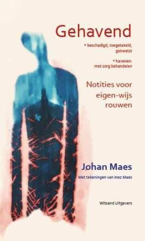 Gehavend-Johan Maes-boek cover voorzijde