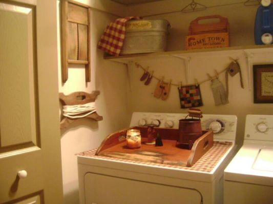 Gorgeous Primitive Laundry Room 50 Best Design And Decor Ideas