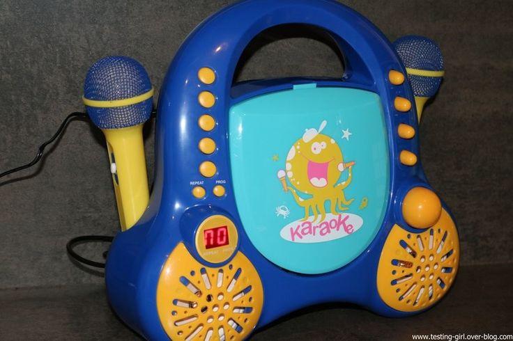 Rockpocket le lecteur CD Karaoké pour enfants de Auna - Le blog de Testing-Girl