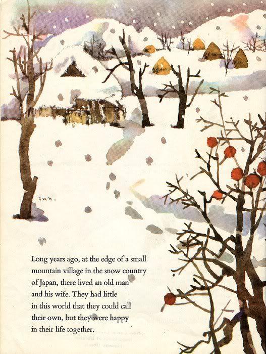 """Miyoko Matsutani """"The Crane Maiden"""" – Illustrated by Chihiro Iwasaki"""