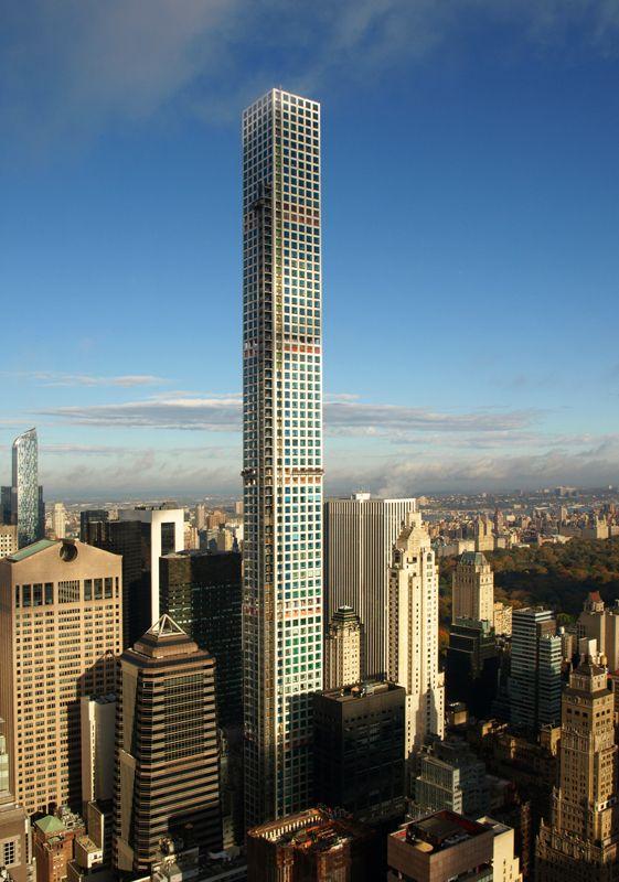 New York City | 432 Park Avenue | 425.5 m| completion 2015 | design : Rafael Viñoly Architects