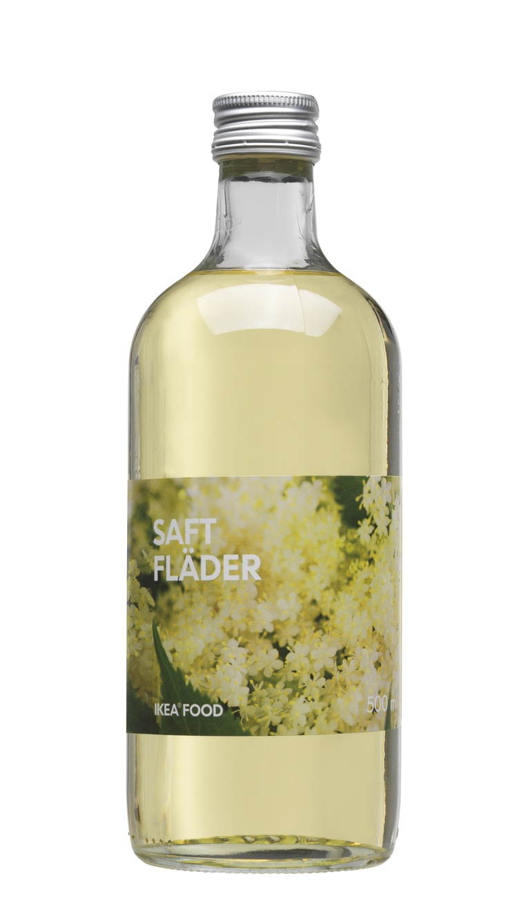 If you want to make a refreshing summer drink for the whole crowd at your Midsummer party, make up a batch of Elderflower Sparkler. Click for the recipe!