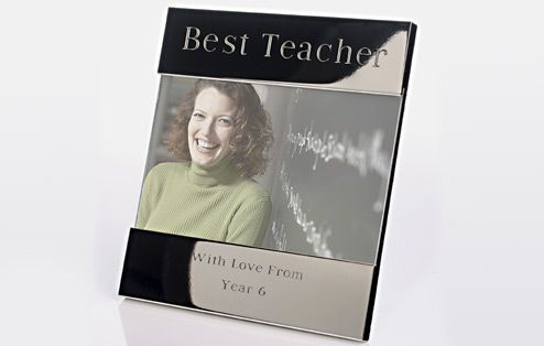 I Just Love It Engraved Best Teacher Photo Frame Engraved Best Teacher Photo Frame - Gift Details. This ?Best Teacher? engraved photo frame designed to hold a 6 x 4? picture can be customised with Any Message of up to 50 letters so there?s plenty http://www.MightGet.com/january-2017-11/i-just-love-it-engraved-best-teacher-photo-frame.asp