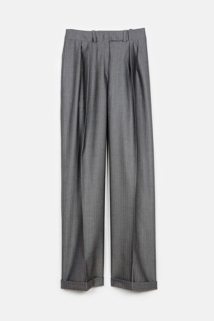 Pallas — Janus Pleated Pant Clair  Because you can