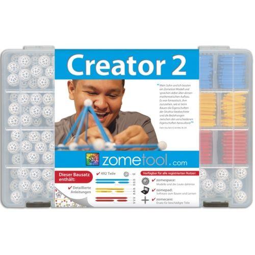 Alkotó 2. kezdőkészlet (Creator 2) tudományos építőjáték - Zometool