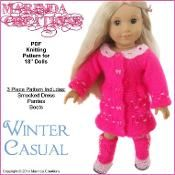American Girl Winter Casual for dolls - via @Craftsy
