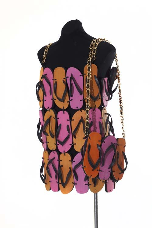 The thong dress worn by Hugo Weaving in 'The Adventures of Priscilla, Queen of the Desert'.