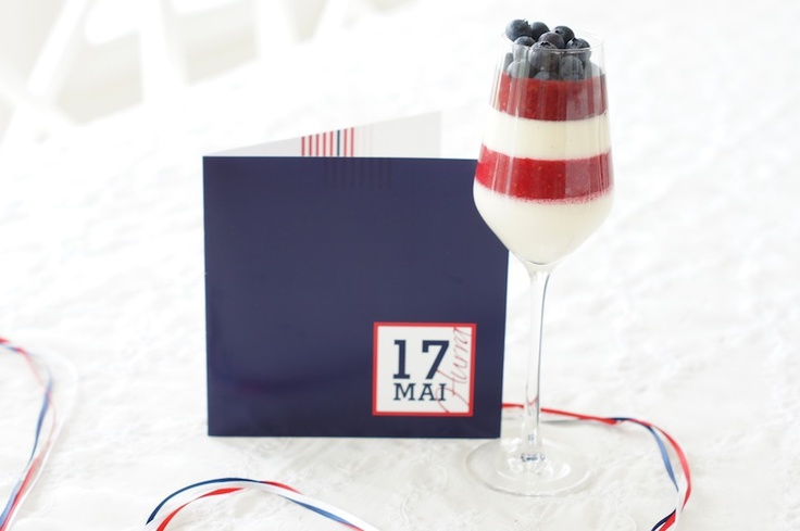 17th of may dessert, Norways national day/independence celebration:) The tri-coloured theme probably works for 4th of july (USA), 14th of july (france), june 12 (Russia) or maybe 30th of april (Netherlands)..?