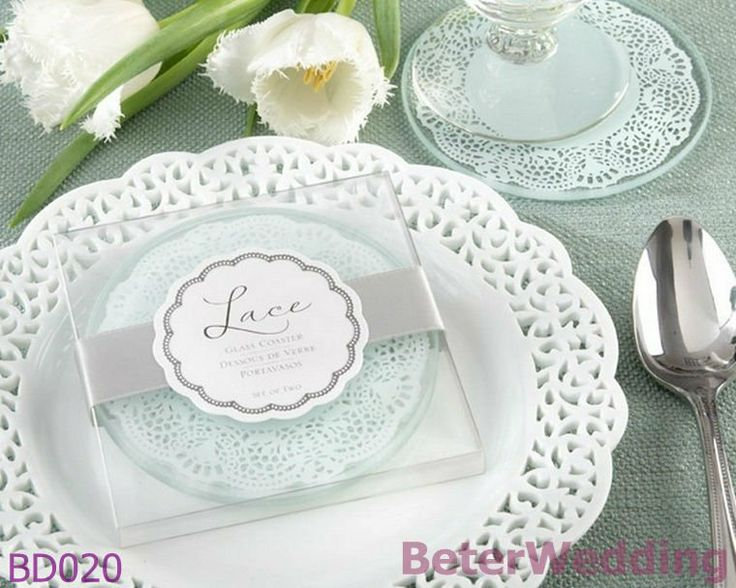 Lace Exquisite Frosted Glass Coasters Wedding Weddingplanning Weddingfavors Weddinggifts Weddinggift