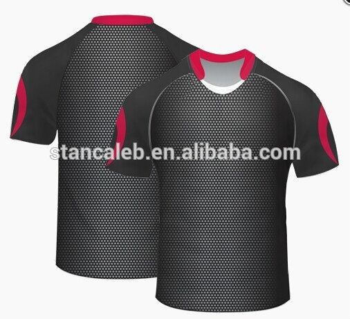 Hot Sale Stan Caleb OEM Sublimation top quality rugby polo t shirts /Rugby Jersey /Rugby clothing #rugby_clothing, #Sleeve