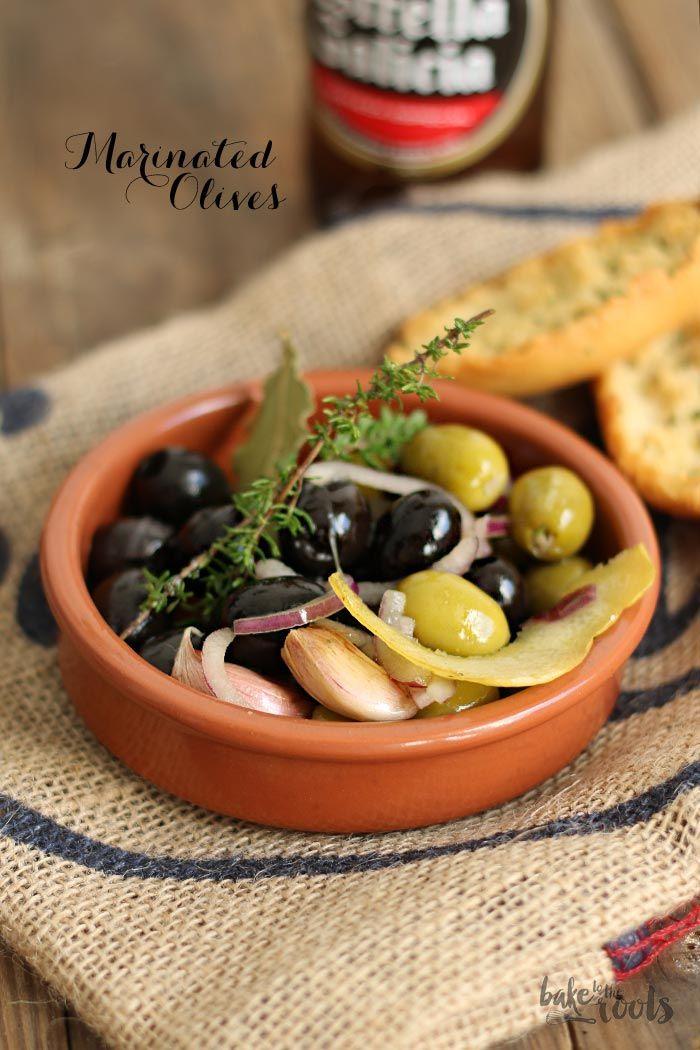 Marinated Olives  - Marinierte Oliven