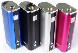 New Arrival !!!  Eleaf iStick  2200 mah  *Battery smaller than the MVP  *Four colors to chose from  *Battery, resistance, wattage, and voltage display  *This 20 watt device fits in the palm of your hand!