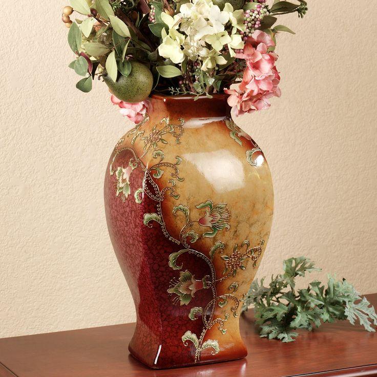 Haikou Ceramic Decorative Floral Table Vase