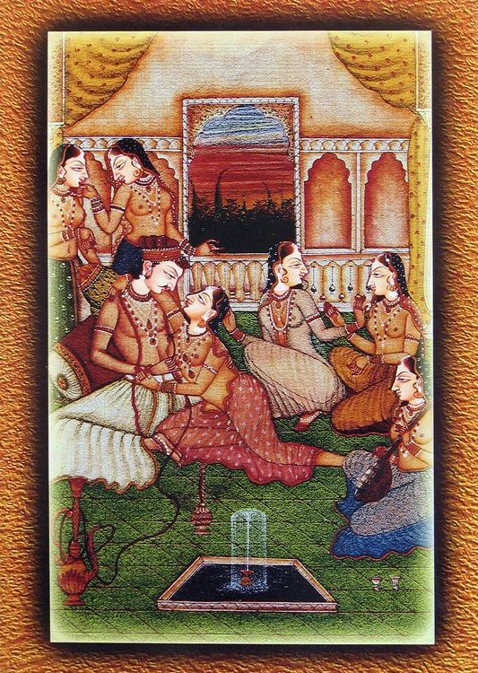 Mughal Harem (Reprint on Paper - Unframed))
