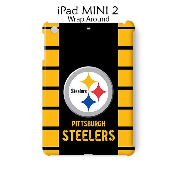 Pittsburgh Steelers Logo iPad Mini 2 Case Cover Wrap Around