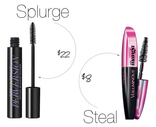 Splurge vs. Steal Beauty: Urban Decay Perversion Mascara