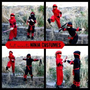 DIY Ninja Costumes | Tips for a Last Minute Costume Idea