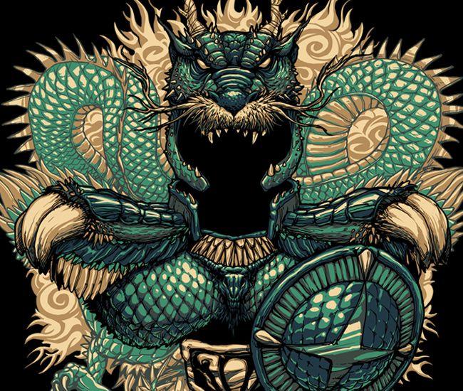 Imagem da ilustração Dragão por Rodrigo Gafa                                                                                                                                                      More