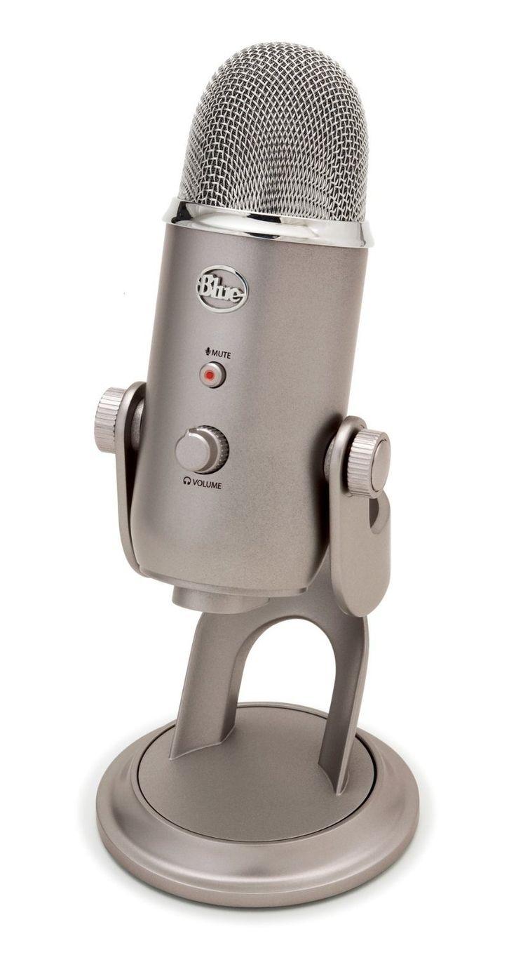 Blue Microphones Yeti USB Microphone - Platinum: Musical Instruments