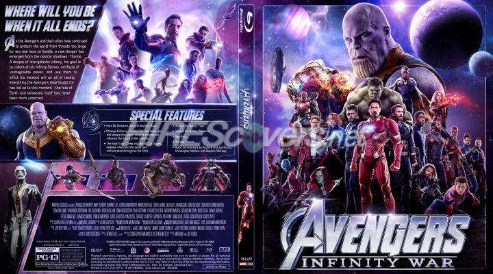 Avengers Infinity War Custom Blu Ray Cover Custom Dvd Avengers Infinity War Infinity War