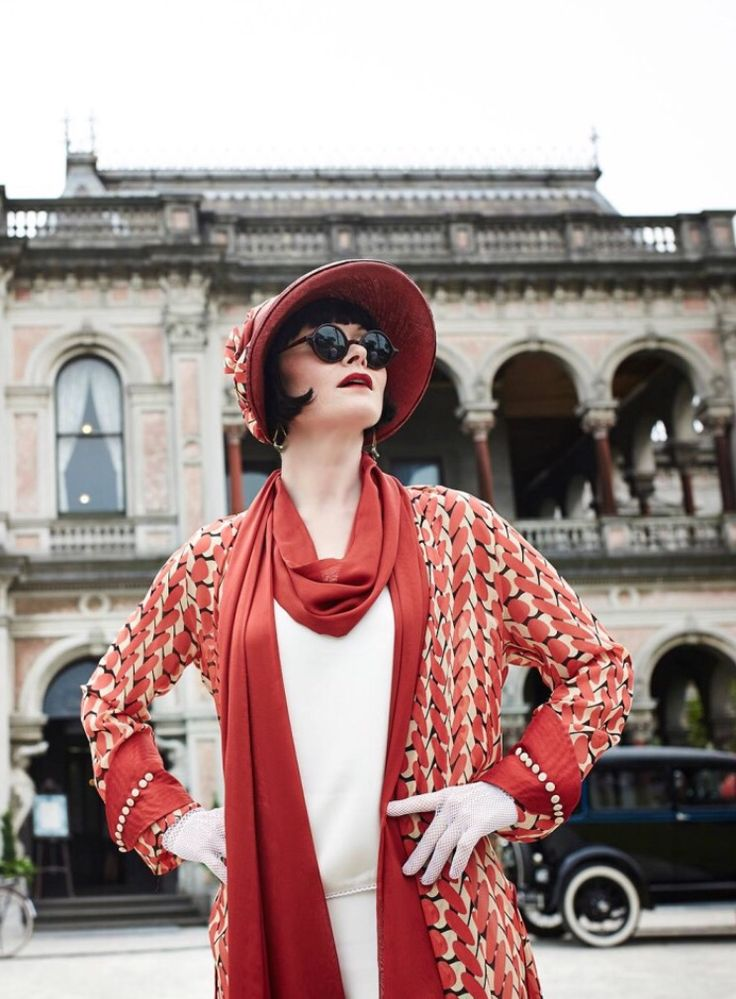 Sassy Phryne Fisher ~ Miss Fisher's Murder Mysteries Season 3