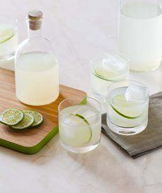 Vodka Gimlets - Start your awesome vodka gimlet with an awesome lime cordial