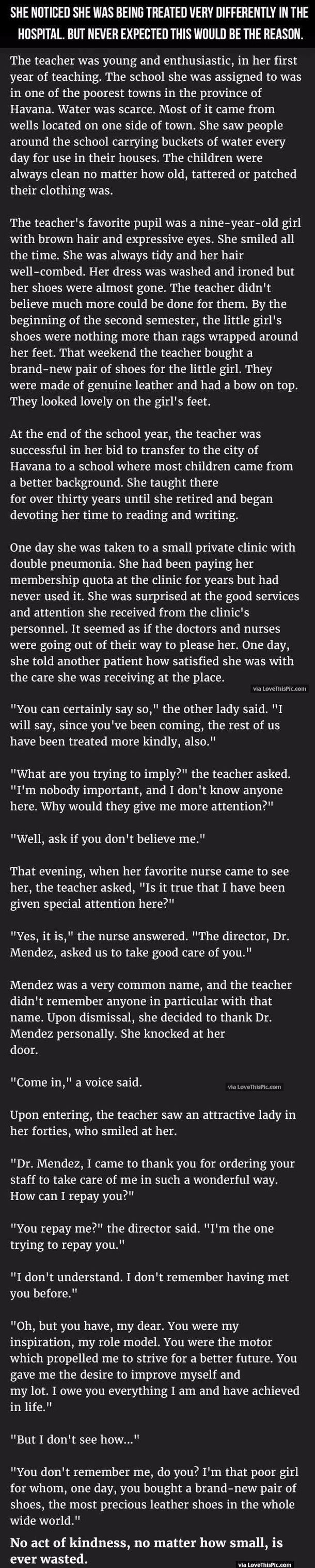 She Noticed She Was Being Treated Very Differently In The Hospital But Never Expected This Would Be The Reason