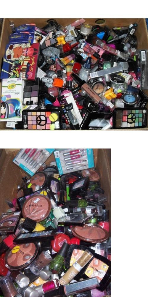 wholesale Makeup: Wholesale Lot Of 500 Assorted Mixed Cheaper Brand Discount Cosmetics - Resell BUY IT NOW ONLY: $375.0