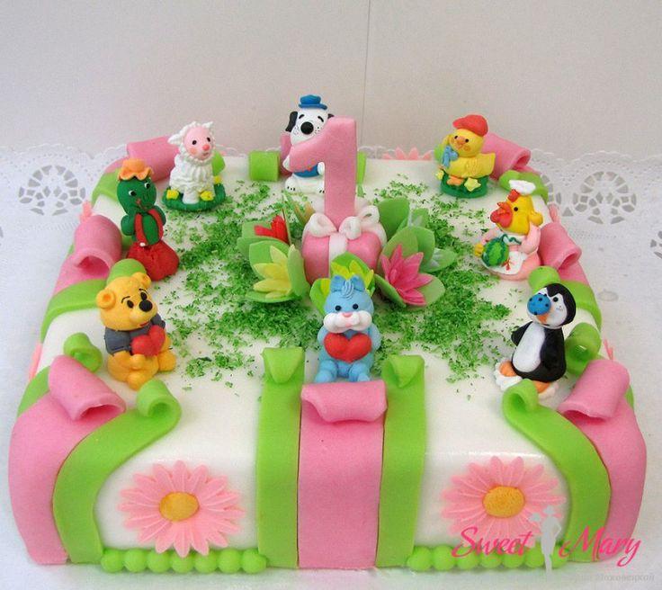 Торты на заказ день рождения 2 года мальчик
