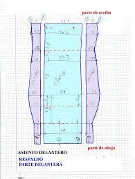 Resultado de imagen para como hacer moldes fundas para asientos de autos