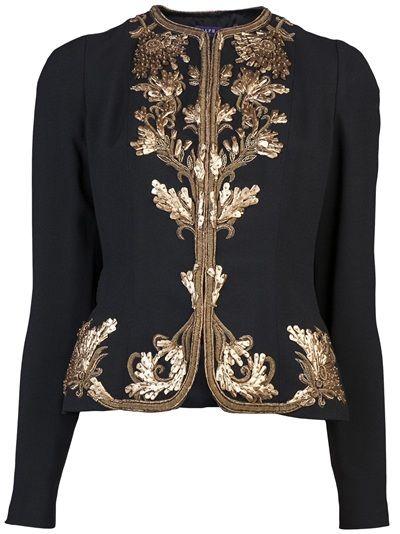 RALPH LAUREN - Embroidered jacket