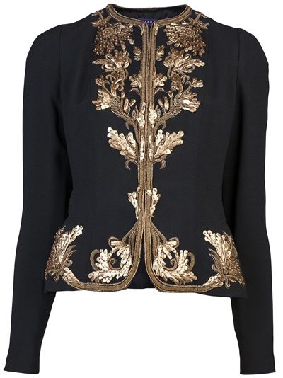RALPH LAUREN - Embroidered jacket