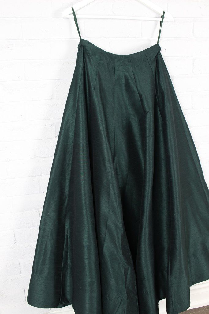 Orchid Skirt - Dark Green
