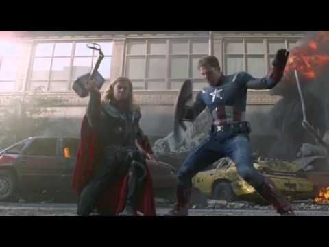 The Avengers Trailer made from the bloopers. And it still looks like a movie I would watch 10,000 times!